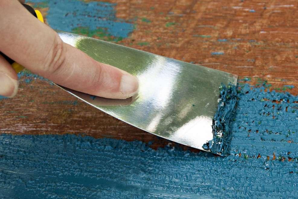 Удаление лакокрасочного покрытия
